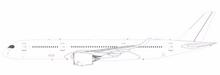 JC Wings Blank Airbus A350-900XWB 1/200