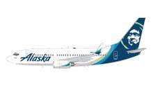 GeminiJets Alaska Boeing 737-700(W) (New Livery) N614AS 1/200 G2ASA778