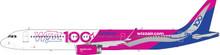 Phoenix Wizz Airbus A321 100h HA-LTD 1/400