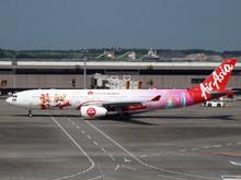 Phoenix AirAsiaX Airbus A330-300 HS-XTD Lotte World 1/400