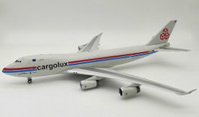 Inflight200 Cargolux Airlines International Boeing 747-400 LX-PCV 1/200