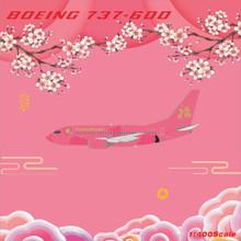 Panda Models Boeing 737-600 B-2019 1/400
