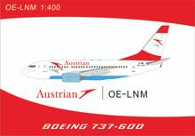 Panda Models Austrian Airlines Boeing 737-600 OE-LNM 1/400