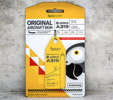 Aviationtag Airbus A319 – Yellow (fastjet co-branded) 5H-FJF