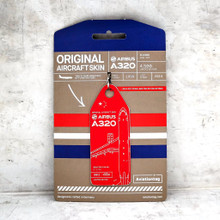 Aviationtag Airbus A320 - Red (China Eastern Airlines) B-2400