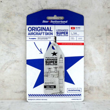 Aviationtag Lockheed Super Constellation (Silver) HB-RSC