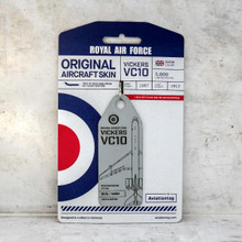 Aviationtag Vickers VC 10 - Grey (Royal Air Force) XV106