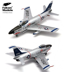 Falcon F-86D Sabre Dog 498th FIS, Yuma AFB,1956 Air Gunnery Meet  1/72 FM723011