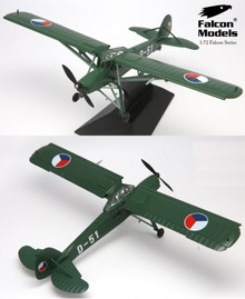 Falcon Fieseler Fi-156 Storch LDP Air Transport Rgt Czech Air Force 1946 1/72 FM724010