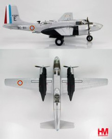 "HobbyMaster B-26C Invader GB 1/19 ""Gascogne"" Set of 4 1/72"