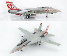 """HobbyMaster US Navy F-14A Tomcat """"Miss Molly"""" VF-111 Sundowners USS Carl Vinson 1/72"""