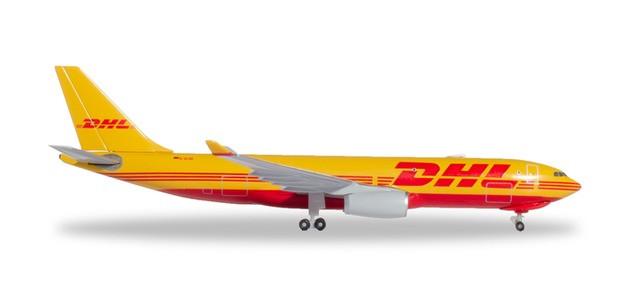 Herpa DHL Aviation (European Air Transport) Airbus A330-200F 1/500
