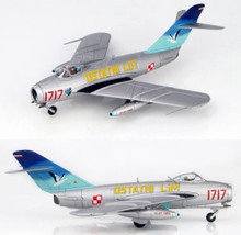 HobbyMaster Czech Air Force Mig 17F (LIM-5) 45th Experimental Aviation Squadron 1993 1/72