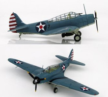 HobbyMaster US Navy TBD-1 Devastator VT-5, USS York Town Marshall Islands 1942 1/72