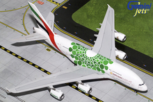 GeminiJets Emirates Airbus A380-800 (Green Expo 2020) A6-EEW 1/200 G2UAE774