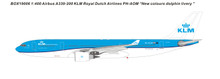Panda Models KLM Airbus A330-200 'New Livery' PH-AOM 1/400