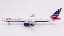 NG Models British Airways Boeing 757-200 G-BIKO 'World tail - Benyhone Tartan (Scotland)' 1/400 NG53077