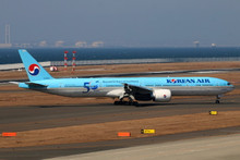 "Phoenix Korean Air Boeing 777-300ER ""50 years"" HL8008 1/400"