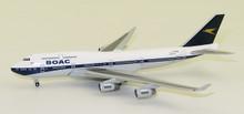 Herpa British Airways Boeing 747-400 - 100th anniversary BOAC Heritage Design 1/500
