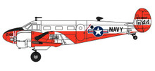Herpa Beech UC-45J Expeditor 1/72