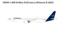 Panda Models Lufthansa Airbus A321Neo D-AIEA 1/400