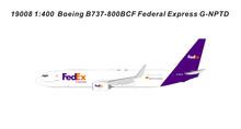 Panda Models Federal Express FedEx Boeing B737-800BCF G-NPTD