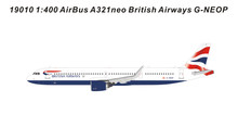 Panda Models British Airways Airbus A321Neo G-NEOP 1/400