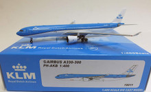"Panda Models KLM Royal Dutch Airlines Airbus A330-300 PH-AKB ""First A330-300 New colours Dolphin Livery"""
