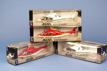 Pilot Station Agusta A.109 - Twin set of 2 colours 1/43