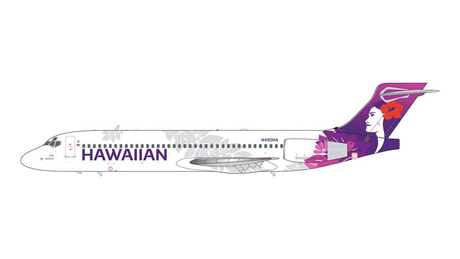 GeminiJets Hawaiian Boeing 717-200 N490HA (New Livery) 1/200