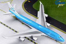 GeminiJets KLM B747-400(M) PH-BFW (New Livery FLAPS DOWN) 1/200 G2KLM546F