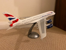LED Wings British Airways Airbus A380 1/160