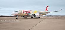 "Herpa Swiss International Air Lines A220-300 ""Fête des Vignerons"" HB-JCA 1/500 533584"