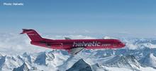 Herpa Helvetic Fokker 100 HB-JVC 1/200 559966