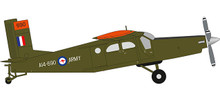 Herpa Royal Australian Army Aviation Corps Pilatus PC-6 Turbo Porter 1/72 580489