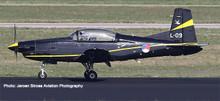 Herpa Royal Netherlands Air Force - 131 Sqd, Pilatus PC 7 Turbo Trainer 1/72 580519