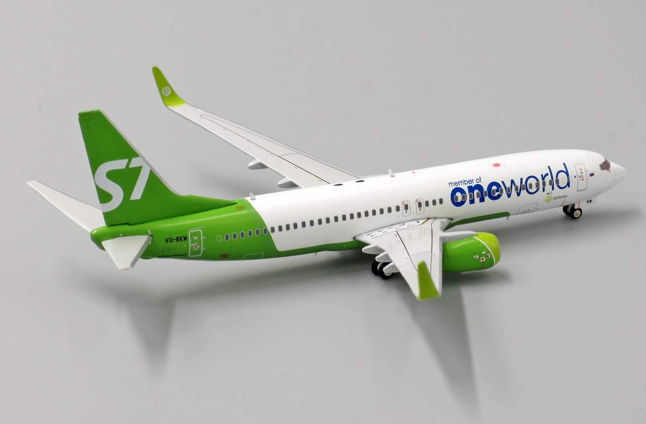 JC Wings S7 Airlines Boeing 737-800 One World VQ-BKW 1/400