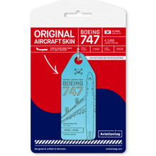 Aviationtag Korean Air Boeing 747 – HL7490
