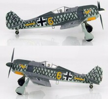 HobbyMaster Focke Wulf FW190A-4 6./JG 1 Woensdrecht field 1942 1/48 HM7423