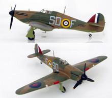 "HobbyMaster Hurricane MK.I Sgt.James ""Ginger"" Lacey 501 Sqn 1/48 HM8607"