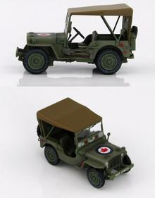 HobbyMaster Jeep Willys RCAF Denmark 1945 1/48 HMG1610