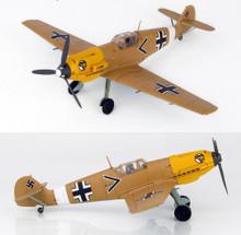 HobbyMaster Messerschmitt BF109E-7 Trop Gruppen-Adjutant I/JG 27 1941 1/48 HM8704