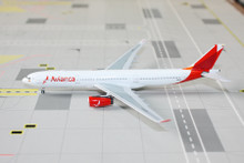 Panda Models Avianca Airbus A330-300 N804AV 1/400 PM19016