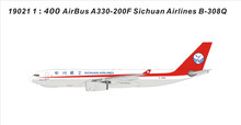 Panda Models Sichuan Airlines Airbus A330-200F B-308L 1/400 PM19021