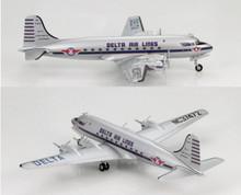 "HobbyMaster Douglas DC-4 Delta Airlines ""NC37472"" 1/200"