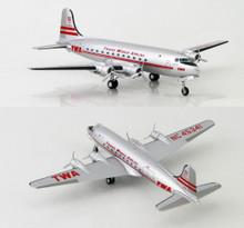 HobbyMaster Douglas DC-4 TWA N45341 1/200