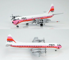 HobbyMaster Lockheed L-188 Electra Pacific Southwest Airlines N6130A 1/200