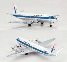 HobbyMaster Vickers Viscount 700 United Airlines N7411 1/200