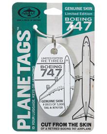 Boeing 747 N761SA PlaneTag