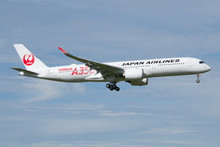Phoenix JAL Japan Airlines Airbus A350-900 'Red' JA01XJ 1/400